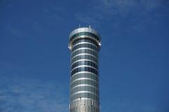 素万那普航空交通管制塔,曼谷国际Ai 图库摄影