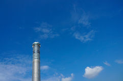 素万那普航空交通管制塔,曼谷国际Ai 库存照片