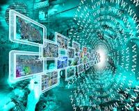 万维网和图象 免版税库存照片