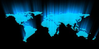 万维网宽世界 图库摄影