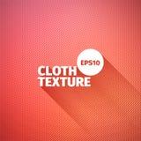 万维网的抽象背景关闭设计织品纹理 传染媒介布料背景 棉花红色样式 免版税库存照片