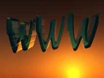 万维网11 库存图片