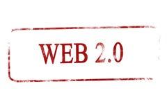 万维网2.0 库存图片