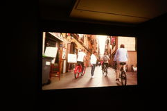 丈夫基思 图象在深圳举行的汇集陈列的哈恩,他宁乡县美术馆,中国 免版税库存图片