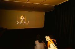 丈夫基思 图象在深圳举行的汇集陈列的哈恩,他宁乡县美术馆,中国 库存照片