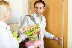 丈夫的可口三明治 免版税库存图片