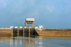 三一个水力发电厂在越南 库存照片