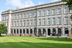 三一学院图书馆,都伯林,爱尔兰 免版税库存图片