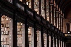 三一学院图书馆 免版税库存图片