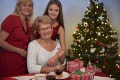 三一代妇女 库存照片