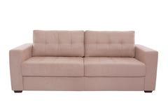 三个位子舒适灰棕色 免版税图库摄影