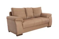 三个位子舒适褐色 免版税库存照片