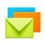 三个信包 免版税库存照片