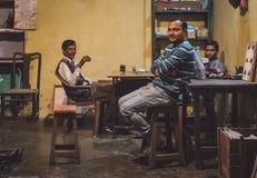 三个印地安人 免版税库存照片