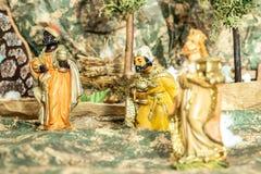 三个国王魔术家 库存照片
