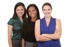 三个女商人 免版税库存照片