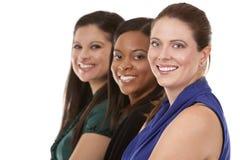 三个女商人 库存照片