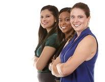 三个女商人 免版税库存图片
