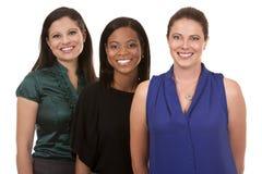 三个女商人 图库摄影