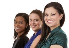 三个女商人 免版税图库摄影