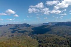 三个姐妹山脉澳大利亚 免版税库存照片