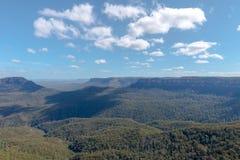 三个姐妹山脉澳大利亚 免版税库存图片