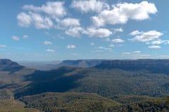 三个姐妹山脉澳大利亚 图库摄影