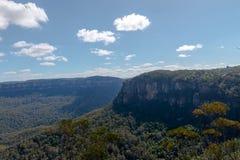 三个姐妹山脉澳大利亚 库存照片