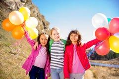 三个姐妹庆祝 免版税库存图片