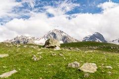 三个山峰 免版税库存照片