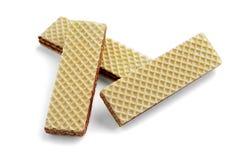 三个薄酥饼 免版税图库摄影