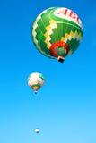 三个飞行的气球 免版税库存照片