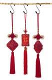 三中国人礼物 库存照片