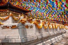 三亚南山佛教寺庙金玉观音工业区 免版税库存照片