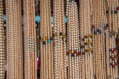 三亚南山旅游业区域珍珠项链 库存图片