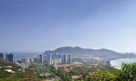 三亚市,海南岛,中国 免版税库存照片
