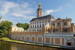 三位一体亚历山大・涅夫斯基拉夫拉,圣彼得堡,俄罗斯 免版税库存图片