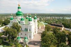 三位一体修道院在切尔尼戈夫乌克兰 库存照片
