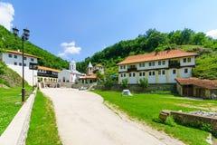 三位一体修道院,普列夫利亚 库存照片