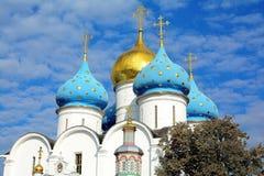 三位一体圣Sergius拉夫拉  免版税库存照片