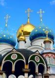 三位一体圣Sergius拉夫拉  免版税图库摄影