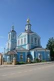 三位一体圣Sergius -最大的正统男性修道院拉夫拉在俄罗斯 库存图片