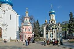 三位一体圣Sergius Lavra 免版税库存照片