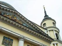 三位一体大教堂在卡卢加州在俄罗斯 库存照片