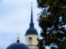 三位一体大教堂在卡卢加州在俄罗斯 库存图片