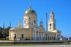 三位一体大教堂在叶卡捷琳堡,俄国 免版税库存照片