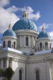 三位一体大教堂,圣彼德堡 免版税库存图片