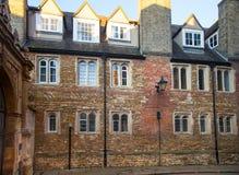 三位一体学院视图,剑桥 库存图片