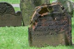 三位一体庭院墓碑 库存照片