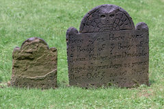 三位一体庭院墓碑 免版税图库摄影
